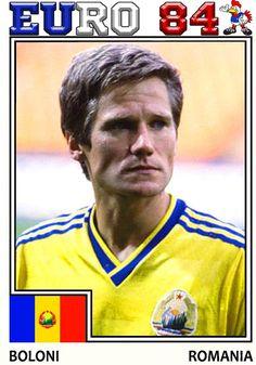 Euro, 1984, Romania, Soccer, France, Baseball Cards, Sport, Sports, Futbol