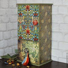 Мебель ручной работы. Ярмарка Мастеров - ручная работа. Купить MORRIS шкафчик для кухни. Handmade. Разноцветный, полка для специй
