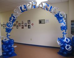 How To Make Balloon Columns | ... Special Event Decor Custom Balloon decor and Fabric Designs: May 2011