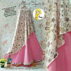Detail Produk Untuk Baju Muslim Gamis Syar 39 I Klarissa P157
