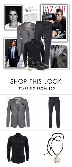 """""""Good Saturday :)"""" by anne-977 ❤ liked on Polyvore featuring Ted Baker, Paul Smith, NOVICA, Salvatore Ferragamo, men's fashion and menswear"""