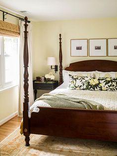 Four post bedroom inspiration.