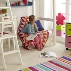 Warwick High Sleeper With Futon. Perfect for when they're old enough for sleepovers!