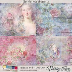 Gentleness by Valentina's Creations #thestudio #digitalscrapbooking