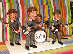 The Beatles by Rossana Martinez mundinhodarox.blogspot.com