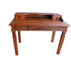 $876 Escrivaninha Madeira Demolição (Cód 889)