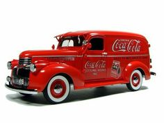 Coca Cola 1941 Chevrolet Suburban Delivery Truck By Danbury Mint Vintage Coca Cola, Cola Coca, Chevrolet Suburban, Antique Trucks, Vintage Trucks, Pub Coca, Tw Yamaha, Classic Trucks, Classic Cars