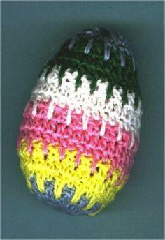 Little striped easter egg cozy