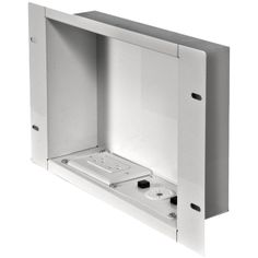 Price Chart, Price history for PEERLESS-AV In-Wall Metal Box with Knockout (Large; With Power Outlet) electronic consumer. Hide Tv Cords, Hide Cables, Hiding Tv Cords On Wall, Cable Management Wall, Cord Management, Hide Cable Box, Cable Box Wall Mount, Diy Tv Wall Mount, Tv Wand