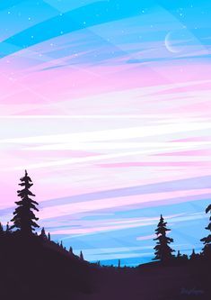 here's a trans pride sky. Trans Flag, Trans Boys, Coming Out, Transgender Ftm, Trans Art, Trans Rights, Gay Aesthetic, Wallpaper Aesthetic, Queer Art