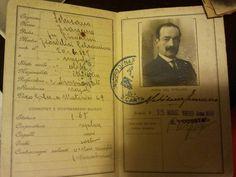 Carta d'Identità del Regno d'Italia del 1930.