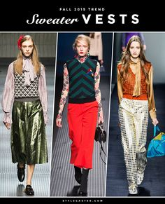 The major trends continue~! boho, haute, and oversized jackets... I love this year's style...!