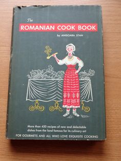 Vintage First Edition Romanian Cook Book by by TreasureTroveBooks, $29.95