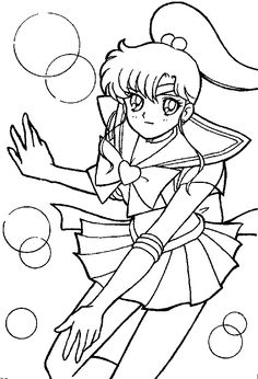 Sailor Moon Printable Coloring Pages Getcoloringpages