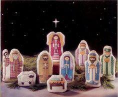 nativity cross stitch pattern