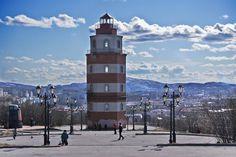 Lighthouse in Murmansk