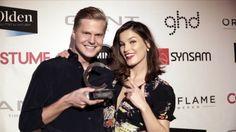 Costume Awards 2014 hanneli mustaparta og hans hallseth fra acne - Se flere bilder og film på http://stylista.no/trender-og-guider/costume-awards-2014-bilder-og-film