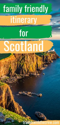 Here are the best ways to enjoy Scotland with your family! From Edinburgh to Skye to Aberdeen and Stirling. Enjoy a week long stay in Scotland and enjoy Travel Europe Cheap, Europe Travel Guide, European Travel, Travel Guides, Travelling Europe, Scotland Travel Guide, Ireland Travel, Europe Destinations, France