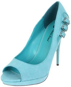 Michael Antonio Womens Kafi Open-Toe Pump: Michael Antonio: Shoes