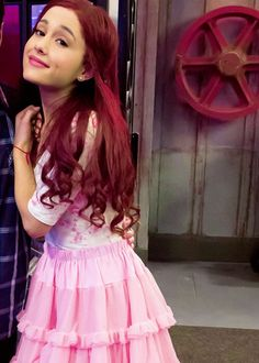 cat valentine red wig