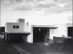 Luis Barragn y Max Cetto, avenida de las fuentes 12, El pedregal de San Angel, Mexico city, d.f., Mexico, 1949