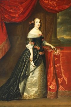 "Princess Henriette-Anne of England ""Minette"", Madame, Duchesse d'Orleans / 1660's by Henri and Charles Beaubrun."