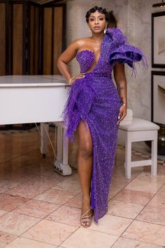 The 20 Best Dressed African Stars Of 2019 African Dresses Online, Latest African Fashion Dresses, African Print Fashion, Royal Dresses, Gala Dresses, Cute Dresses, Evening Dresses, African Traditional Wedding Dress, Dinner Gowns