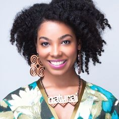 Get this fab look with #twist out #natural hair