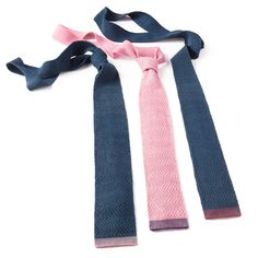 The company Bolt Threads brings unisex ties made of bioengineered spider silk to the market.