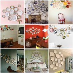 Friday Favs:: Plates on Walls