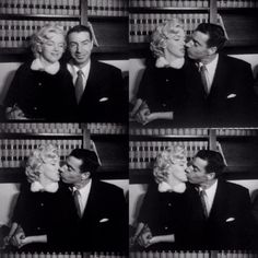 Marilyn and Joe DiMaggio photographed on their wedding day at San Francisco City Hall, January 14th 1954.