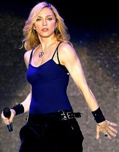 Madonna.I have those arms!!! NICE and Solid