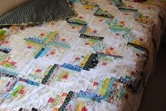 Log Cabin Quilt, via Flickr.