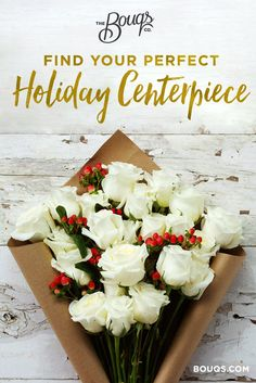 Spread joy this holiday season with farm fresh flowers! Perfect for your centerpiece or for anyone on your nice list. Save up to 25% off + FREE shipping!