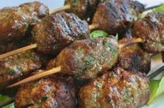 Today is one of the rather stranger little-known holidays here in the U.S, Something On A Stick Day. Now, we don't really have any idea why this holiday exists, or where it came from. But any excuse to post the recipe for these tasty Savory Kofta&nbs
