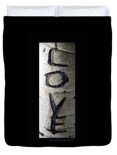 "Love written in the trees 5 Queen (88"" x 88"") Duvet Cover by Tamara Kulish"