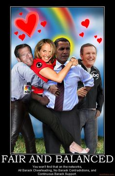 What a bunch of suckup losers!  I refuse to watch Obama's media lapdogs.
