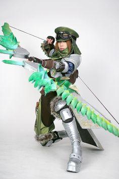 Monster hunter cosplay yes