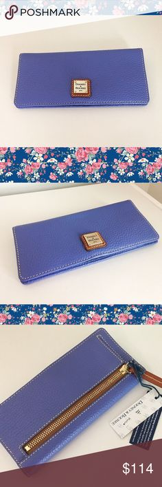 💗Dooney & Bourke Lavender Wallet BRAND NEW, NEVER USED, TAGS STILL ATTACHED. Gorgeous lavender wallet from Dooney & Bourke 💗 Willing to consider reasonable offers! Dooney & Bourke Bags Wallets