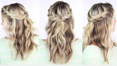 Abby Smith's Twisted Crown Braid | Easy Braided Hairstyles For Spring 2017 | Makeup Tutorials Guide