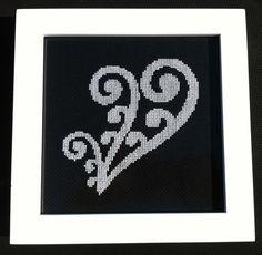 New Zealand Maori Koru 1 Cross Stitch Pattern by KiwiXCrossing Cross Stitch Embroidery, Embroidery Patterns, Cross Stitch Patterns, Maori Patterns, International Craft, Silver Fern, Fern Frond, Maori Designs, Spiral Shape