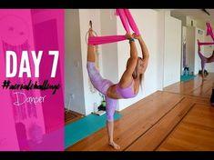 Day 19 Circus Seat 30 Day Aerial Yoga & Silks Challenge - YouTube