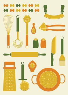 Pasta Icons on Behance