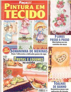 Artes da Nique: Revista pintura em tecido