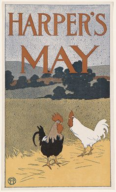 Harper's May 1898, Edward Penfield