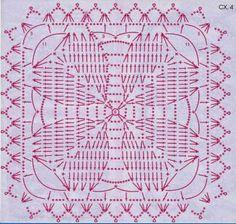 10 Patrones Crochet de Grannys | Crochet y dos agujas