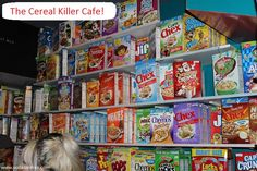 Cereal Killer Cafe London 139 Brick Lane London, UK E1 6SB. Métro: Shoreditch High Street