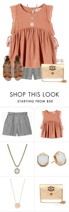 """""""Going to watch Mary Poppins"""" by simply-makayla ❤ liked on Polyvore featuring le vestiaire de jeanne, Kendra Scott and BaubleBar"""