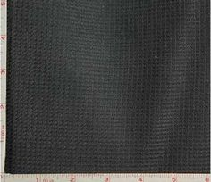 Black Thermal Fabric 2 Way Stretch Classic Spun Polyester 7 Oz 58-60""