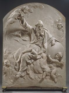 God the Father  Follower of Ignaz Günther  (German, 1725–1775)  Date: ca. 1770–80 Culture: Southern German, Bavaria